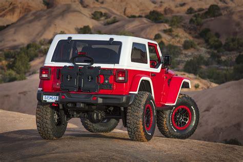 moab jeep concept gallery 2018 easter jeep safari concepts climb the rocks