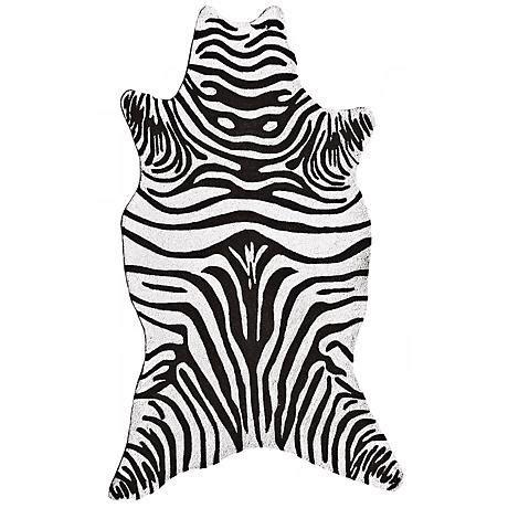 Zebra Indoor Outdoor Rug Black Zebra Indoor Outdoor Rug K0174 Www Lsplus