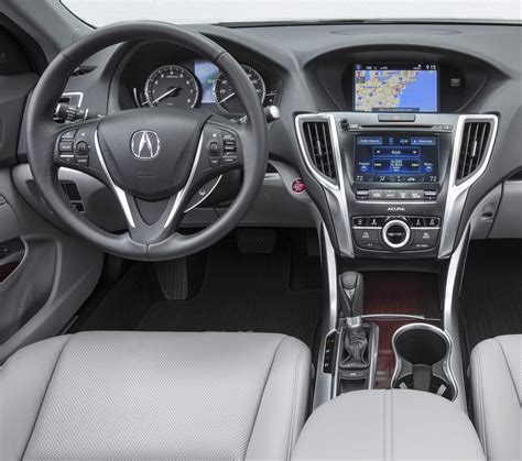 2015 Acura Tlx Interior by S Journal On Autoline