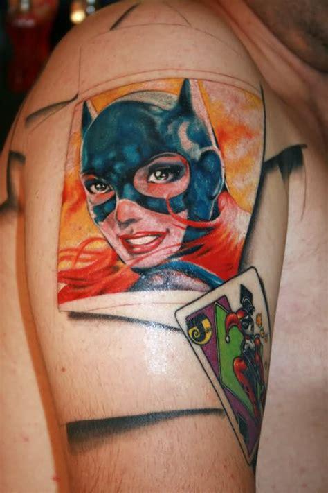 batgirl tattoo 18 mind blowing batgirl logo tattoos