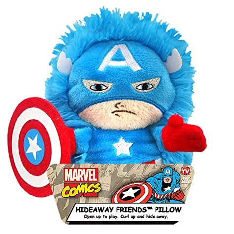Marvel Pillow Pets by Marvel Captain America Plush Hideaway Character Pillow 5
