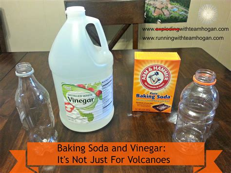 baking soda and vinegar baking soda and vinegar it s not just for volcanoes