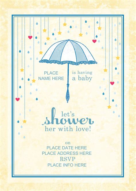 shower invitation templates free baptism invitations baptism invitation template