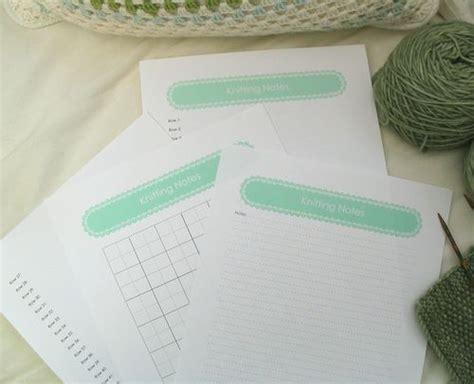 knitting pattern notes free knitting patterns knitting note paper