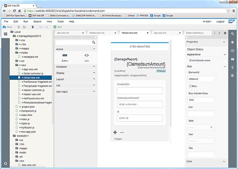online design layout editor sap fiori application development in the cloud