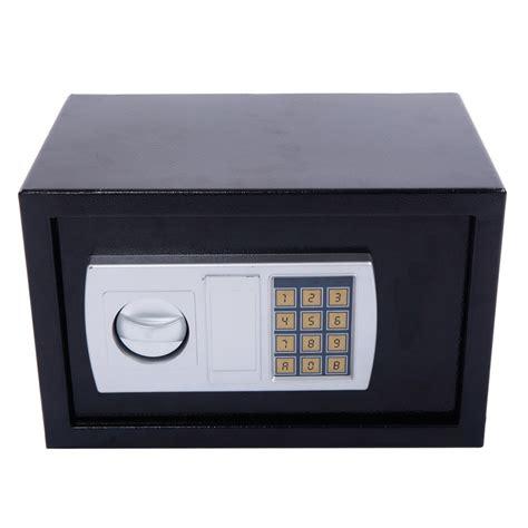 Safety Box 12 5 Liter 12 5 Quot Stark Electronic Digital Lock Keypad Black Safe Box