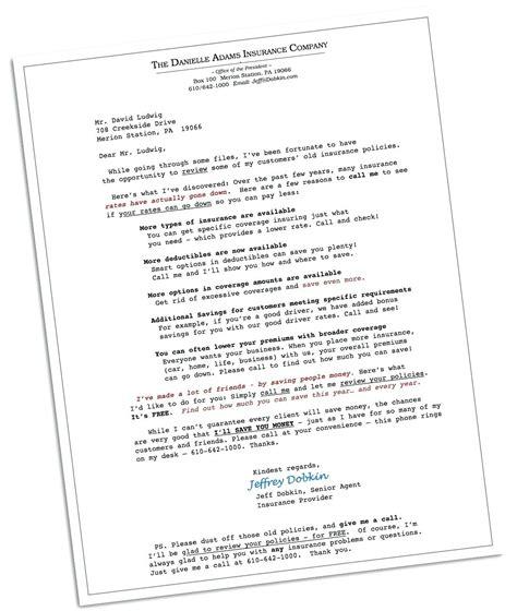 Template Bonus Letter Template Insurance Sales Email Template