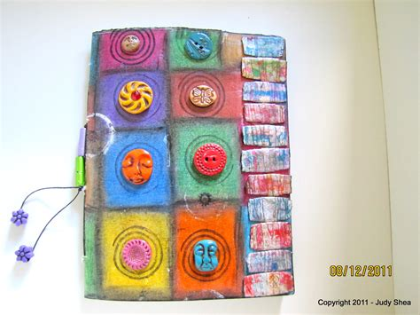 How To Make Handmade File Covers - page re make handmade journal book the key