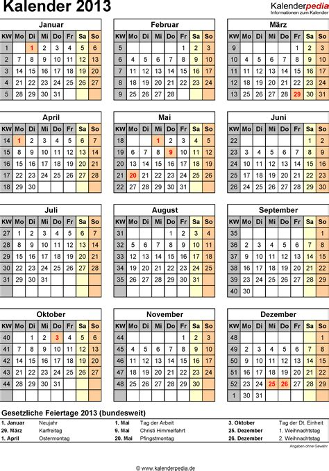 kalender mit kw kalender