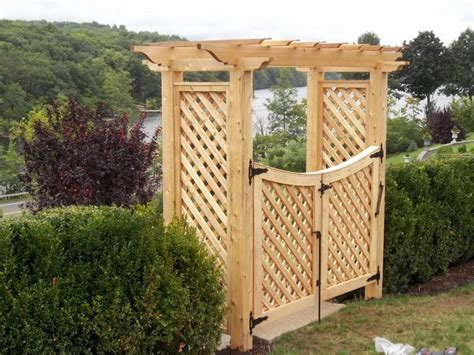 pergola gate designs arbors pergolas ketcham fenceketcham fence