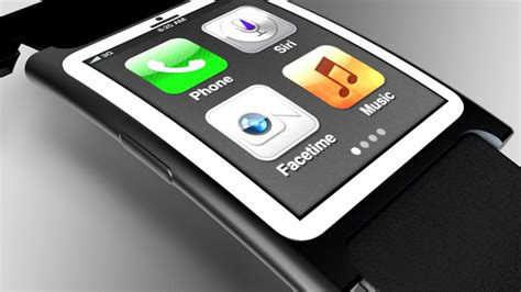 apple s iwatch rumored to a curved oled display and rate monitoring system