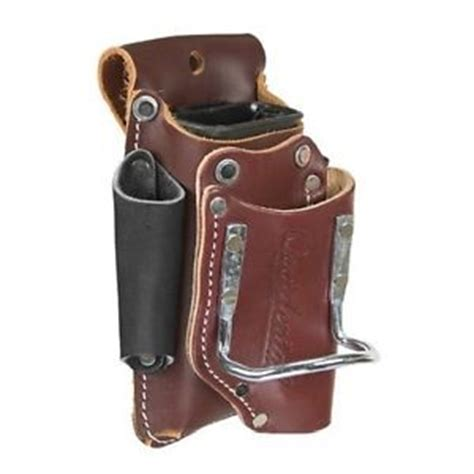 leather tool pouch carpenter electrician hammer pliers