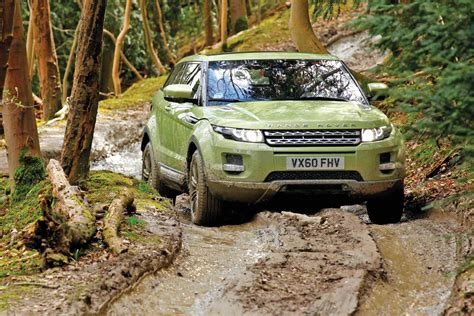 land rover range rover off road range rover evoque off road first drives auto express