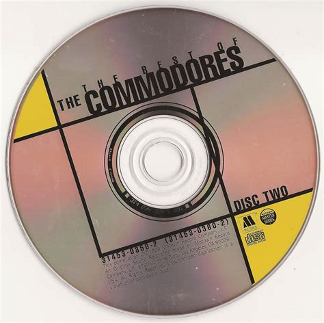 Anthology Series rewind the best of the commodores anthology