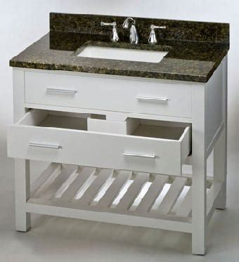 36 inch drawer slides soft close empire industries pr36w 36 inch contemporary vanity with