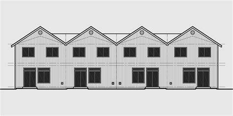 fourplex house plans fourplex townhouse house plan fourplex house plans 2 story townhouse 3 bedroom