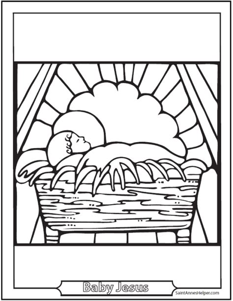 baby jesus coloring pages pdf 45 bible story coloring pages creation jesus mary