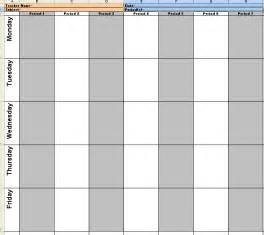 Weekly Lesson Plan Template by All Templates Weekly Lesson Plan Template