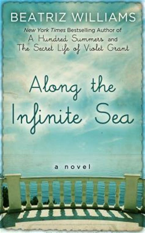 along the infinite sea along the infinite sea large print hardcover forever