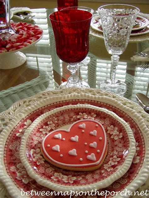 valentines day tablescapes a valentine s day tablescape table setting with diy candy