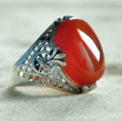 Batu Akik Darah Merah 17 permata murah sokmo cincin akik yaman merah darah cay 02