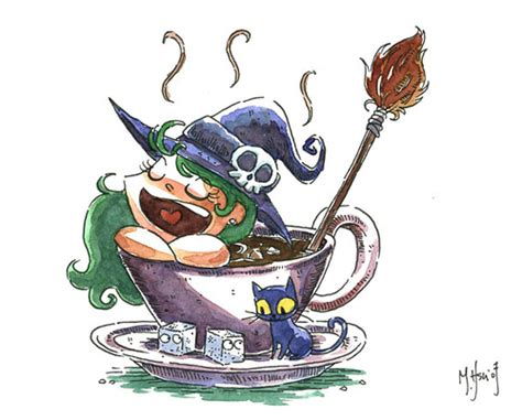 Witch Coffee Bath I   See more of my artwork on my website     Flickr