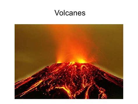imagenes de desastres naturales volcanes presentaciones de tipos de volcanes
