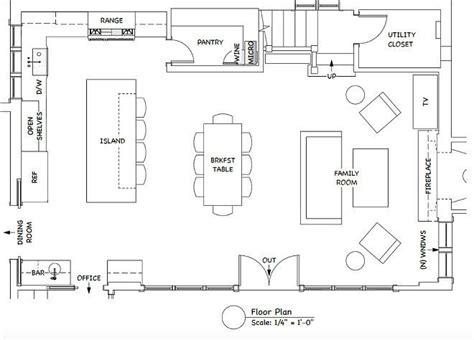 ultimate kitchen floor plans ultimate kitchen floor plans thefloors co