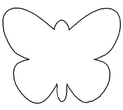 kindergarten butterfly pattern 25 fresh paper crafts for spring printable butterfly