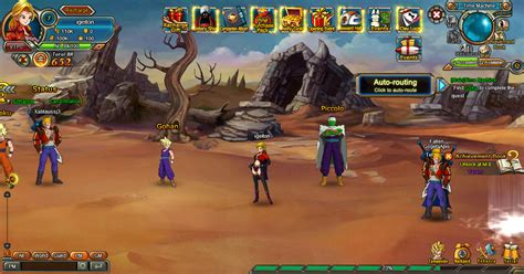 anime saiyan dragonball online first look immosite get