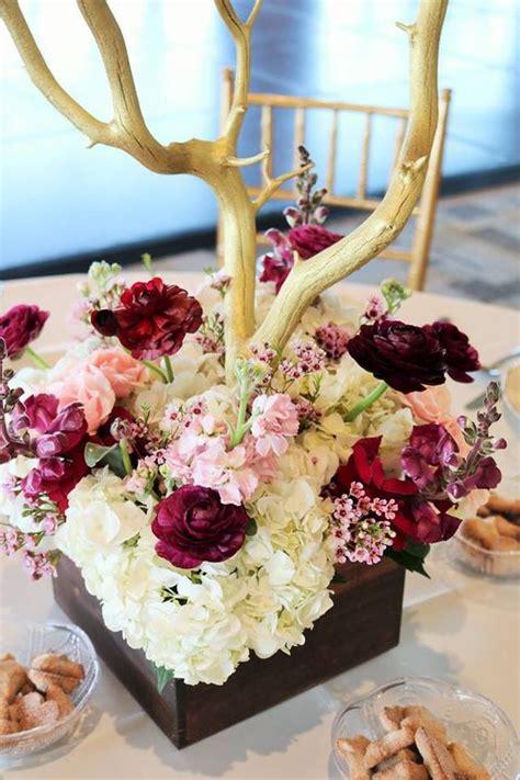 30 elegant fall burgundy and gold wedding ideas deer