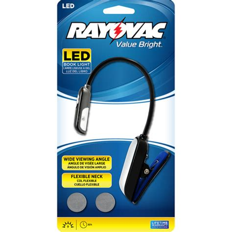 Walmart Reading Light by Rayovac Reading Book Light With Batteries Walmart