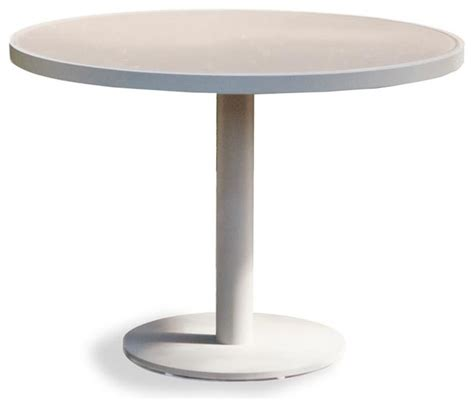 pier pedestal dining table modern outdoor tables