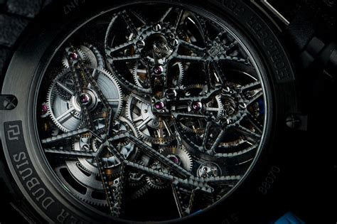 Roger Dubuis Excalibur Dual Tourbillon Black of the week roger dubuis excalibur spider pirelli flying tourbillon