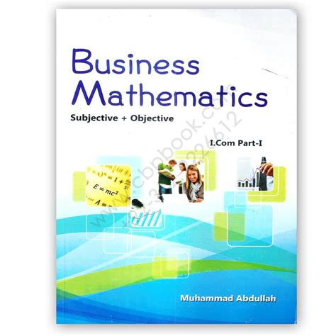 Mba Business Maths Notes by Business Mathematics Subjective Objective For I 1 By