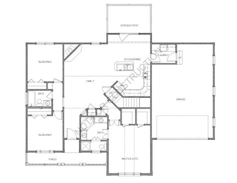 westfield floor plan the westfield 3059 3 bedrooms and 2 5 baths the house