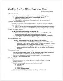 Car Wash Business Plans Tommy Car Wash Blog Abbreviated Business Plan Template