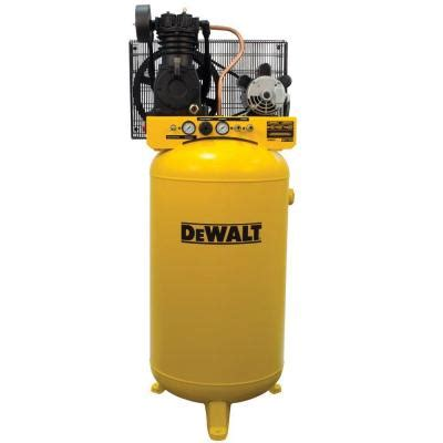 electric air compressor dewalt 80 gal stationary