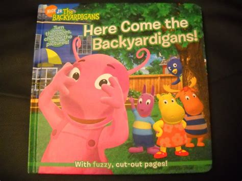 here come the backyardigans cover book by janice