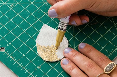 How To Make A Leather by 4 Ways To Make Leather Earrings Brit Co