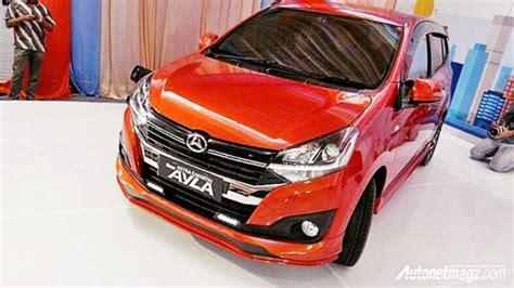 Lu Led Mobil Ayla daihatsu ayla facelift resmi diperkenalkan