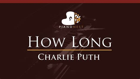 download mp3 charlie puth how long charlie puth how long higher key piano karaoke sing