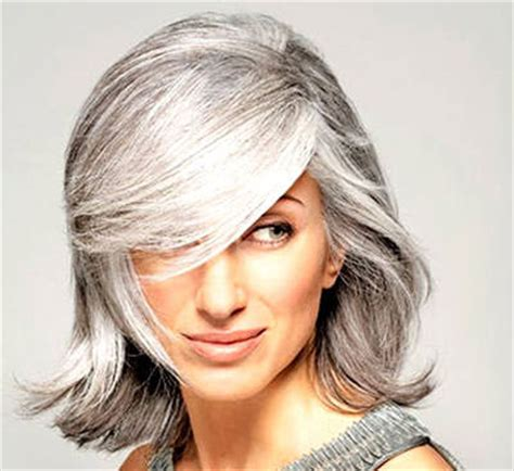 youthful haircuts for gray hair 4 gray hairstyles for women over 50