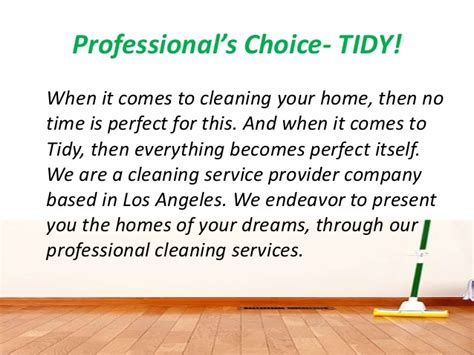 find the best cleaning services in los angeles
