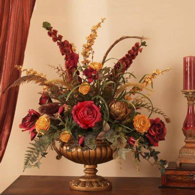 silk centerpieces grande and gold silk floral centerpiece ar276 flower