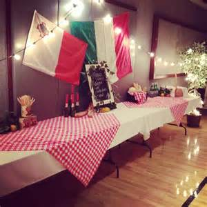 Italy Themed Decorations by 25 Best Ideas About Italian Table Decorations On