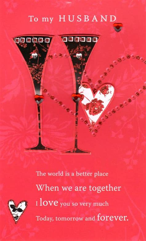 valentines day ideas husband to my husband lovely s day card cards kates