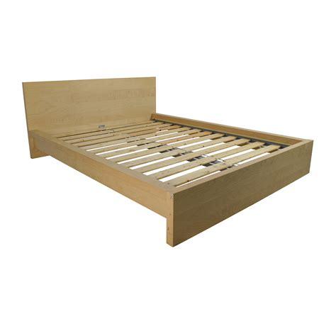 Platform Bed Queen Ikea 62 Off Ikea Ikea Sultan Queen Bed Frame Beds