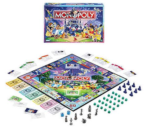 Monopoly Disney disney edition monopoly hasbro disney at entertainment earth item archive