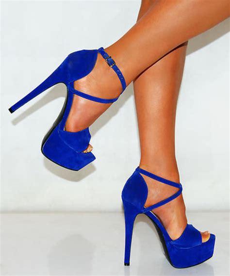 royal blue high heel sandals shoes royal blue high he sandle blue high heels high